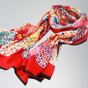 Digital-printed silk scarf Manufacturer