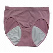 Sanitary panty for day, customized designs are welcome