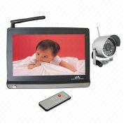 China Wireless CCTV Camera with 380TVL Clear Picture Display and Weather-proof Design