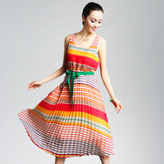 Textile printing, customized new fashion designs are accepted, available in various styles/colors