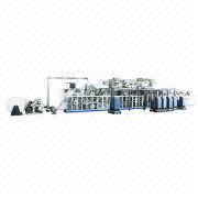 Semi-servo T-shaped Babies' Diaper-making Machine Manufacturer