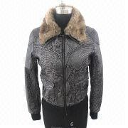 Women's Faux Fur Coat from China (mainland)