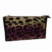 Fashion and cheap leather cosmetic bag from Fuzhou Oceanal Star Bags Co. Ltd