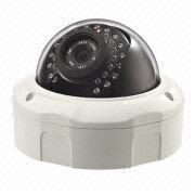 China Wired IP Camera, Vandal-proof, Day & Night, Low Lux w/Megapixels HD Sensor, 720 Pixels Resolution