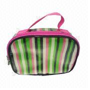 Fashionable and Promotional PVC Cosmetic Bag for Women's and 1,000 Pieces MOQ from Fuzhou Oceanal Star Bags Co. Ltd