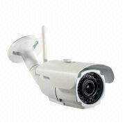 China Wireless IP Camera, Megapixel 1,080P Full HD, Supports Wi-Fi, PIR, Onvif Standard and True Day/Night