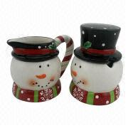 Sugar and Creamer Set from China (mainland)