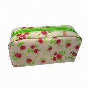 Cute and promotional PVC cosmetic bag from Fuzhou Oceanal Star Bags Co. Ltd