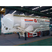 China 42m³ Bulk Cement Tank Trailer with 13T BPW Axles and Rated Loading of 50T