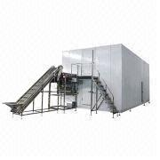500kg/hr Fluidized IQF Freezer from China (mainland)