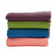 Microfiber anti-slip yoga mat from Taiwan