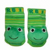 Baby Frog Rattle Socks from China (mainland)