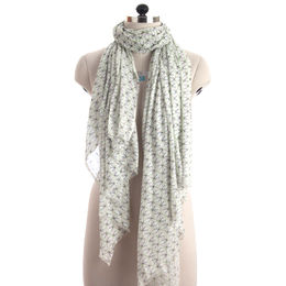 Geo Print Cotton Scarf from India