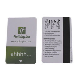 CMYK Magnetic Stripe Cards with Signature Line, Made of PVC/ABS/PET/PS/Paper Material