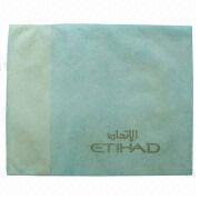 Disposable headrest cover for airline and shuttle bus