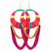 Fashionable Jewelry Earrings from Hong Kong SAR