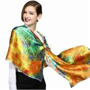 Silk Scarf from Hong Kong SAR