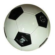Hong Kong SAR Balón de fútbol profesional cosido a máquina con 1 a 2 capas, hechas del PVC