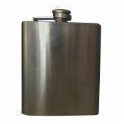 Stainless steel hip flasks from China (mainland)