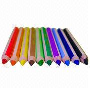 Triangle color pencils from China (mainland)