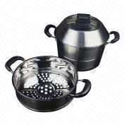 Multi-use Stainless Steel Cooking/Steamer Pot from China (mainland)