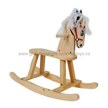 2013 popular wooden rocking horse from China (mainland)