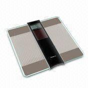 Solar Power Bathroom Scale, Equipped with 4 High-precision G-sensor and Auto-on Function