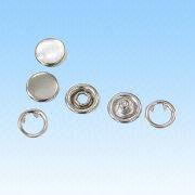 Prong Snap Buttons with Pearl Cap (8.5mm) from HLC Metal Parts Ltd