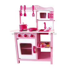 Kid's Wooden Play Kitchen Set from China (mainland)