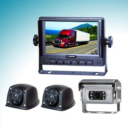 Rear-view Systems with 5-inch Cable Shatterproof Monitor and Mini Waterproof Auto-shutter Camera