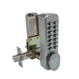 Easy Code Push Button Lock, Made of Zinc Alloy Material from Kin Kei Hardware Industries  Ltd