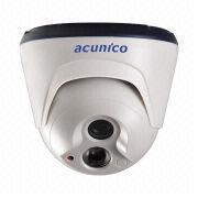800TVL IR Dome 960P CMOS Camera, IR-cut, 20m IR Distance, 12V DC Power Supply