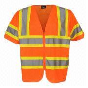 Short Sleeve Safety Jacket from China (mainland)