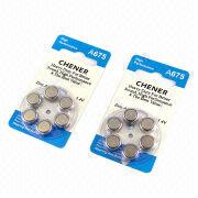 Zinc Air Button-cell Batteries from Hong Kong SAR