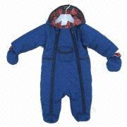Baby boy padded snowsuit from Hong Kong SAR