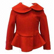 Girls premium wool coat from Hong Kong SAR