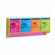 2013 New Popular Design Colorful Wooden Storage R Manufacturer