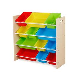 2013 New Popular Design Wooden Toy Bin Organizer Manufacturer
