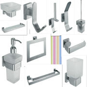 Bathroom Accessories Fittings 304 stainless steel toilet brush holders bathroom accessories