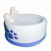 Nice Porcelain Pet Bowl from China (mainland)
