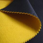 Anti-pilling PU Film/Micro Polar Fleece 3-layer Fabric from China (mainland)