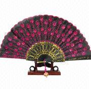 Women's Hand Fan from Hong Kong SAR