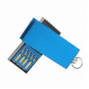 China Mini Small Waterproof USB 3.0 Flash Drive Pen Drive, Pico Metal Swivel Mini Shape 3.0 USB Stick