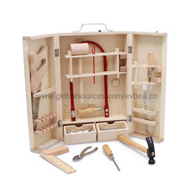 High quality wooden tools box toys Manufacturer