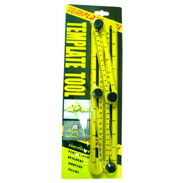 Taiwan Template Tool, Essential for Floor Layers, Builders, Roofers, Tilers