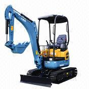 Mini excavator from China (mainland)