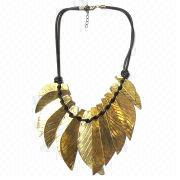Leaf Pendant Necklace from China (mainland)