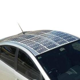 Flexible Solar Panel, 100W Maximum Power