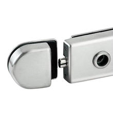 Taiwan Magnetic Glass Door Locks, Radius Shape