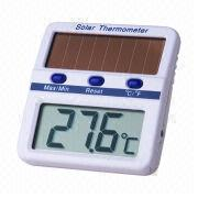 Solar-powered Digital Thermometer from Hong Kong SAR